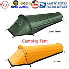 Portable Backpacking Travel Tent Outdoor Camping Sleeping Bag Tent & Sack T2N9