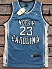 NWT Michael Jordan #23 UNC North Carolina Tar Heels Throwback Swingman Jersey