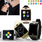 Bluetooth Smart Watch Phone Mate Wristwatch GSM SIM Cards for Android Samsung