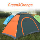 US 2-3 Person Waterproof Camping Tent Auto Pop Up Quick Shelter Outdoo