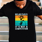 Relax We Are All Crazy Its Not A Competition Lemur T-Shirt