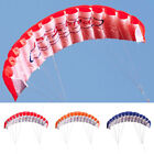 Outdoors Toy Dual Line Parafoil Beach Parachute Stunt Sport Red Kite Adult Kid's