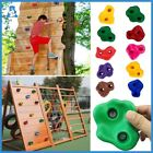Rock Climbing Holds Kids Wood Wall Climbing Stones Toys Playground Game Hand Fee