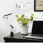 USB-Powered LED 5X Magnifying Light Magnifier Clamp Hands 3 Modes Dimmable New