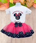 Minnie Mouse Hand Made BIRTHDAY GIRL TUTU SET 2pcs Personalized Name+Age