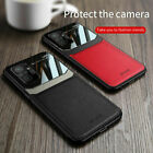 For Xiaomi Redmi Note 10 Pro Max / 10S Shockproof Hybrid PU Leather Case Cover