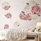 3d Peony Floral Wall Stickers Decals Mural Wallpaper Living Room Home Decor Cb