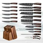 1 Pcs Kitchen Knives Chef knife Stainless Steel  Sharp Cleaver Slicing Knife