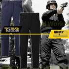 Mens Police Security MOD Army Combat Cargo Trousers Military Pants Multi Pocket