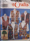 *Simplicity Pattern 7279 CRAFT Appletree Vest XS-XL FF
