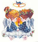 Ceramic Decals Holiday Christmas Love Angels