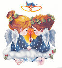 Ceramic Decals Holiday Christmas Love Angels image