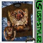 NIGHTSHADE® GOTHIC ART T-SHIRT SINNERS  FATE M L XL XXL