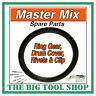 More images of MASTER MIX MIXER RING GEAR,MC130 C / W FIXING RIVETS+CLIP *1ST CLASS POST*