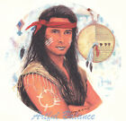 Ceramic Decals Native American Indian Brave with Shield image