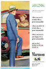 MARMON 68 GREAT FASTEST AUTOMOBILE CAR ADVERTSING VINTAGE REPRO POSTER