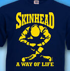 Skinhead A WAY OF LIFE SCOOTER - Mens T-SHIRT  Oi SKA MoD cotton T SHIRT