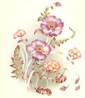 Ceramic Decals Pink Poppy Floral Flowers Bunch image
