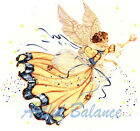 Ceramic Decals STARDUST Blue Gold/Yellow Angel Star image