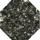 "Bronze Reflective 1/4"" Fireglass Fire Glass Fire Pit Fireplace Glass Crystals"