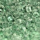 "Evergreen 1/2"" Fireglass Fire Glass Fire Pit Fireplace Fire Glass Crystals"