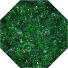 "3/4"" Evergreen Fire Glass Fireglass Fire Pit Fireplace Glass Crystals Gas Logs"