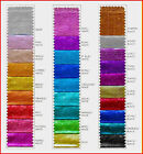 TISSUE LAME FABRIC COLOR CHART CHOICE OF COLOR 1 YD COSTUME DECORATING CRAFT