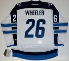 BLAKE WHEELER WINNIPEG JETS REEBOK PREMIER AWAY JERSEY $174.99 USD on eBay