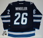 BLAKE WHEELER WINNIPEG JETS REEBOK PREMIER JERSEY $174.99 USD on eBay