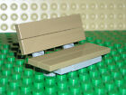 Custom LEGO Park Bench Garden Seat Light Bluish Gray Frame Choose Seat Colour
