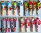 CHARACTER Bouncy Ball & Candy Tubes (Sweets/Toy){TS/HK/DP/MSM)}{fixed £1 UK p&p}