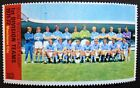 Football Sun Soccerstamp Stamps From the 1971-72 Season (Clubs M-Z)