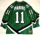 ZACH PARISE NORTH DAKOTA FIGHTING SIOUX GREEN JERSEY MINNESOTA WILD USA