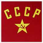 T-SHIRT Soviet Russian CCCP red