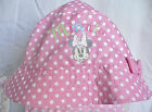 baby~MiNNiE MoUsE~HaT~InFant~Beach~Pink Polka Dot~6-12M~18-24M~NWT~Disney Store