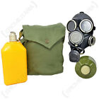 Russian GP-7V Gas Mask with Drinking System and Bag - All Sizes Soviet Red Army
