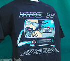 Black Mens 100% Cotton Ride it like you Stole It  T Shirt mens New pre shrunk