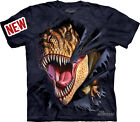 New T-REX TEARING Sizes S - 3X TEE T-SHIRT ADULT SIZES