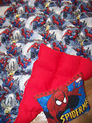 """8 pd WEIGHTED twin BLANKET """"Spideman"""" ADHD autism INSOMNIA """"FREE"""" pillow"""