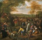 Moses Striking Rock Jan Steen Dutch Active Leiden Haarlem Hague 1626 1679 Print