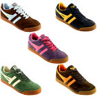 WOMENS GOLA CLASSICS HARRIER BRIGHT FLAT TRAINERS 3-8