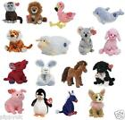 TY 2.0 BEANIE BABY ~ CHOOSE YOUR FAVOURITE ANIMAL OR BEAR SOFT PLUSH TOY