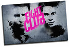 Fight Club Brad Pitt Giclee Canvas Wall Art Movie Film Picture Poster