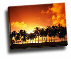 Nature Sunset Giclee Canvas Picture Wall Art