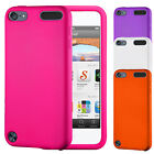 SOFT SILICONE SKIN CASE COVER FOR APPLE IPOD TOUCH 5TH GEN FREE SCREEN PROTECTOR