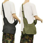 ARMY/MILITARY SHOULDER HAND BAG WITH SMALL STORAGE POUCH