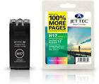 Jettec Remanufactured HP 17 Colour Ink Cartridge for Deskjet 816c & more
