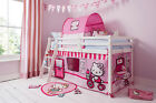 Hello Kitty™ Cabin Bed with Tent and Tunnel 578WG Mid Sleeper