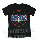 RUSH 2112 Starman Rock Tour Black T-Shirt S M L XL