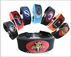 NHL Team Color or Classic Style Rubber Hockey Bracelet - Pick Team